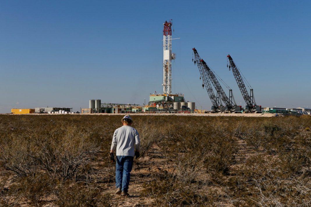 kilang minyak bumi, texas